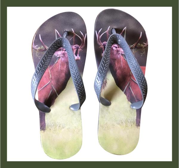 Sandal med ramme